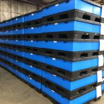 Returnable Packaging Container Kit Stacked