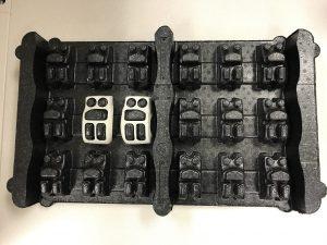 Returnable Packaging EPP Custom Tray