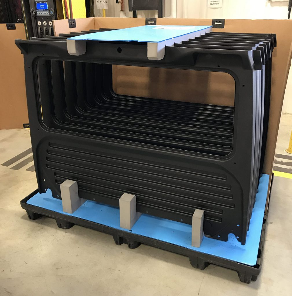 Returnable Packaging Uni Pak with Custom Dunnage