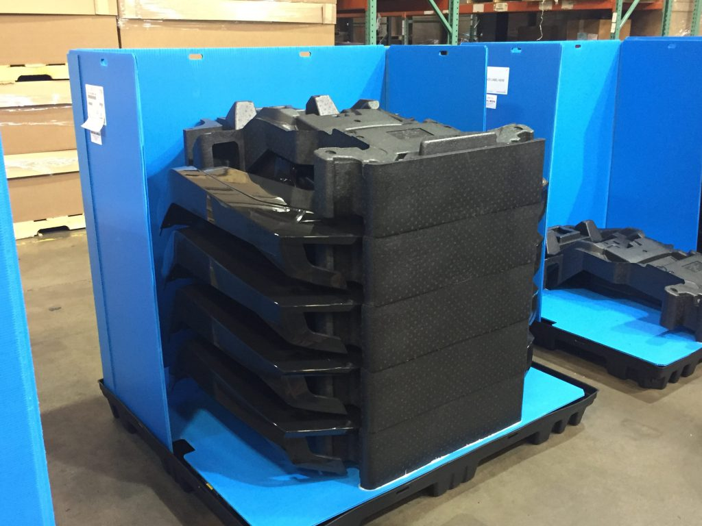 Returnable Packaging Uni Pak with EPP Dunnage